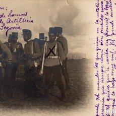Postales: SEGOVIA. ACADEMIA DE ARTILLERÍA. FOTOGRÁFICA. Lote 179964876