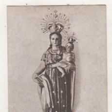 Postales: NUESTRA SEÑORA DE LA ESTRELLA. PATRONA DE POZAL DE GALLINAS. VALLADOLID. SIN CIRCULAR. SIN REVERSO.. Lote 180016492