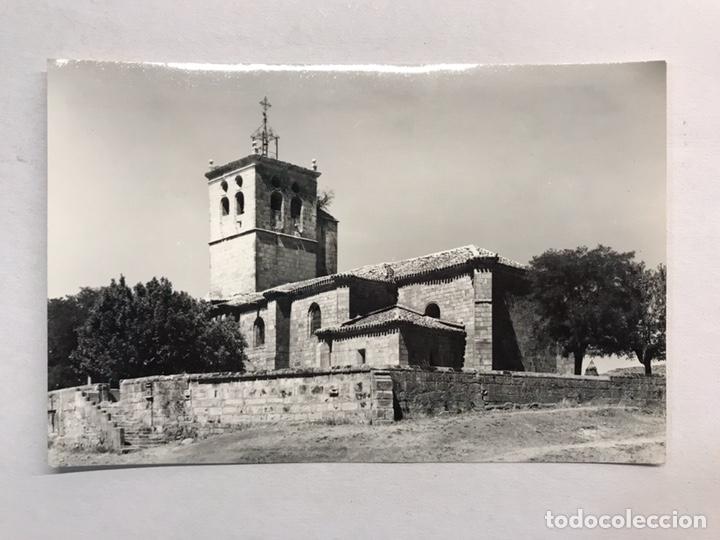 SALAS DE LOS INFANTES (BURGOS) POSTAL NO.4, IGLESIA DE SANTA MARÍA. EDITA: VISTABELLA (H.1950?) (Postales - España - Castilla y León Moderna (desde 1940))