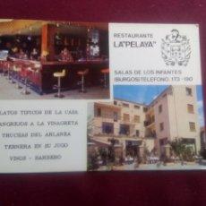 Postales: SALAS DE LOS INFANTES, BURGOS. Lote 180106756