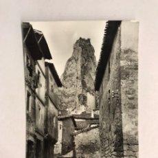 Postales: PANCORBO (BURGOS) POSTAL NO.15, CALLE TIPICA Y PEÑA DEL ELEFANTE. EDITA: H. A. E. (H.1950?). Lote 180110930