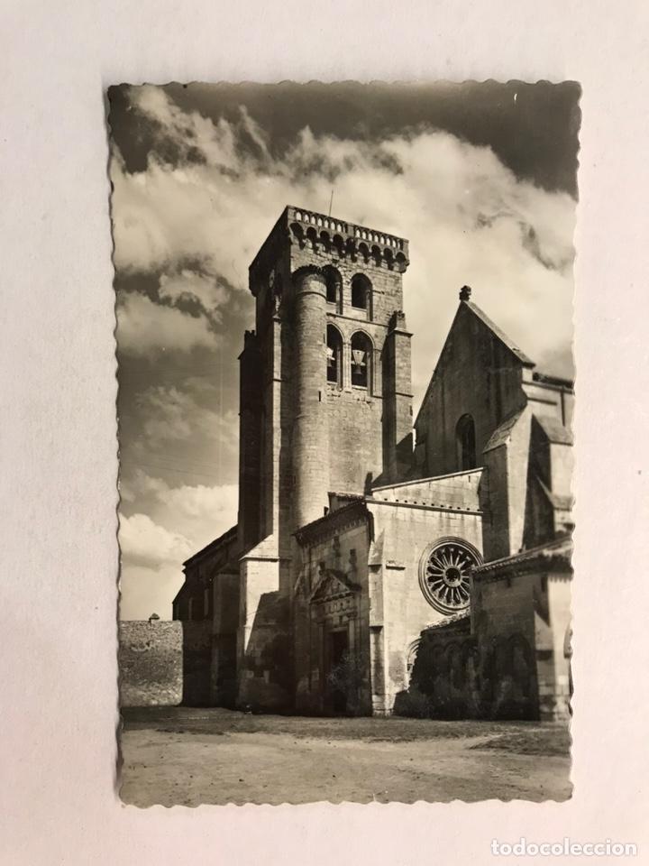 BURGOS. POSTAL NO. 97, MONASTERIO DE LAS HUELGAS. ENTRADA PRINCIPAL. EDITA: ED. GARCIA GARRABELLA (Postales - España - Castilla y León Moderna (desde 1940))