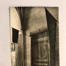 Postales: BURGOS. POSTAL NO.78, MONASTERIO DE LAS HUELGAS. PENDON DE LAS NAVAS DE TOLOSA. (H.1950?). Lote 180112087