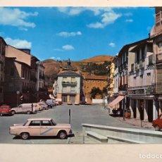 Postales: VILLAFRANCA DEL BIERZO (LEON) POSTAL NO. 6, PLAZA MAYOR. EDITA: ZERKOWITZ (A.1974) ESCRITA. Lote 180136388