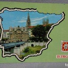 Postales: POSTAL ARCO SANTAMARIA BURGOS CASTILLA Y LEÓN . Lote 180205528
