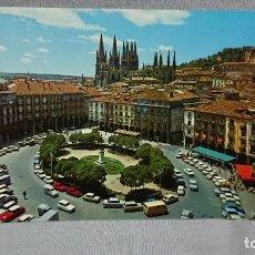 Postales: POSTAL PLAZA MAYOR CATEDRAL BURGOS CASTILLA Y LEÓN . Lote 180205640