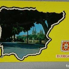 Postales: POSTAL PASEO ESPOLÓN BURGOS CASTILLA Y LEÓN . Lote 180205725