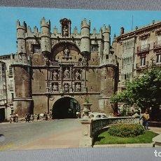 Postales: POSTAL ARCO SANTAMARIA BURGOS CASTILLA Y LEÓN . Lote 180205811