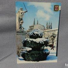 Postales: POSTAL PASEO DEL ESPOLÓN DE BURGOS CASTILLA Y LEÓN . Lote 180206058