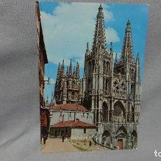 Postales: POSTAL CATEDRAL DE BURGOS CASTILLA Y LEÓN . Lote 180206132