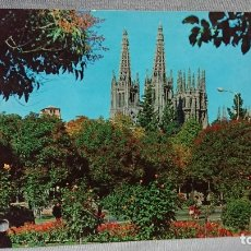 Postales: POSTAL CATEDRAL DE BURGOS CASTILLA Y LEÓN . Lote 180206230