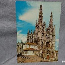 Postales: POSTAL CATEDRAL DE BURGOS CASTILLA Y LEÓN . Lote 180206282