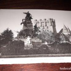 Postales: Nº 11703 POSTAL SEGOVIA MONUMENTO A DAOIZ Y VELARDE CASTILLO. Lote 180278968
