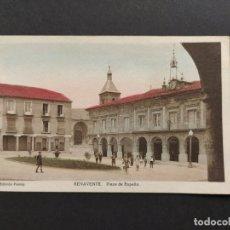 Postales: BENAVENTE-PLAZA DE ESPAÑA-EDICION PIORNO-VER FOTOS-(63.310). Lote 180416898