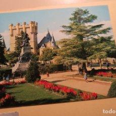 Postales: SEGOVIA PARQUE DEL ALCÁZAR 14 ED ALARDE. Lote 180428772