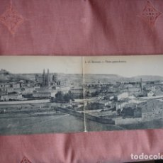 Postales: BURGOS VISTA PANORAMICA DOBLE S/C. Lote 180440773