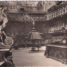 Postales: BURGOS - CATEDRAL. SILLERÍA DEL CORO (NO. 54) - ED. GARCÍA GARRABELLA . Lote 181184533