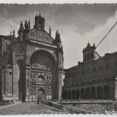 Postales: SALAMANCA FACHADA PRINCIPAL DE LA IGLESA DEL CONVENTO DE SAN ESTEBAN. Lote 181559246