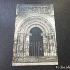 Postales: CARRION DE LOS CONDES PALENCIA PORTADA DE IGLESIA E. GRANDE FOTOGRAFO CARRION DE LOS CONDES. Lote 181930148