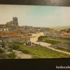 Postales: PALENZUELA PALENCIA PANORAMICA IGLESIA DE SANTA EULALIA. Lote 182168501