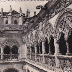 Postales: VALLADOLID - PATIO DE SAN GREGORIO (NO. 61) - ED. SICILIA. Lote 182702618