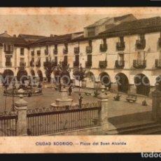 Postales: SALAMANCA - CIUDAD RODRIGO - PLAZA DEL BUEN ALCALDE - ED. LIBRERIA DOLORES CEJUDO - . Lote 182989785
