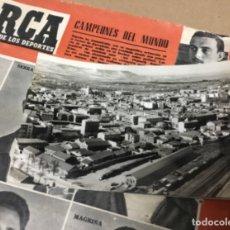 Cartoline: ANTIGUA POSTAL FOTOGRÁFICA PALENCIA VISTA AEREA. Lote 182990337