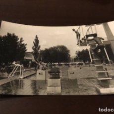 Postales: ANTIGUA POSTAL FOTOGRÁFICA PALENCIA PISCINA . Lote 183050396