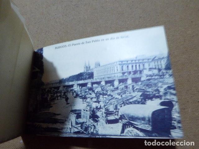 Postales: BLOC DE POSTALES DE BURGOS. 2ª SERIE. HELIOTIPIA ARTISTICA ESPAÑOLA. 20 POSTALES. 9 X 14 CM C/U - Foto 5 - 183057608