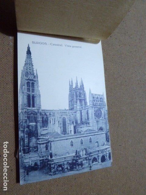 Postales: BLOC DE POSTALES DE BURGOS. 2ª SERIE. HELIOTIPIA ARTISTICA ESPAÑOLA. 20 POSTALES. 9 X 14 CM C/U - Foto 7 - 183057608