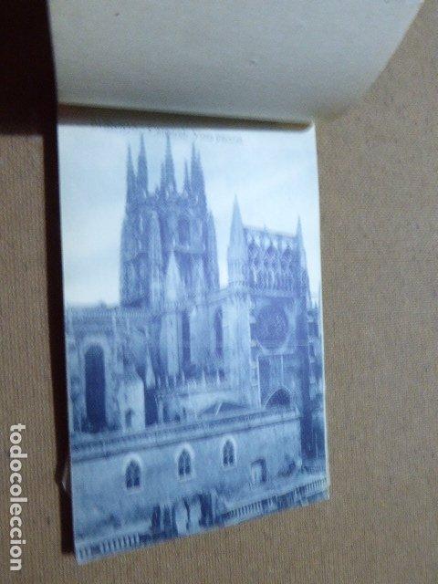 Postales: BLOC DE POSTALES DE BURGOS. 2ª SERIE. HELIOTIPIA ARTISTICA ESPAÑOLA. 20 POSTALES. 9 X 14 CM C/U - Foto 8 - 183057608