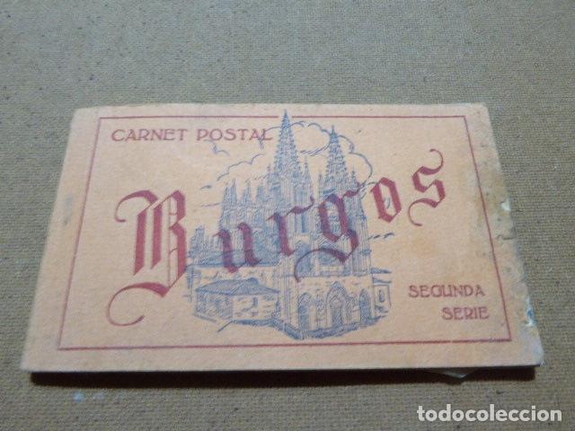 BLOC DE POSTALES DE BURGOS. 2ª SERIE. HELIOTIPIA ARTISTICA ESPAÑOLA. 20 POSTALES. 9 X 14 CM C/U (Postales - España - Castilla y León Antigua (hasta 1939))