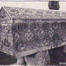 Postales: BURGOS - HUELGAS - TUMBA DE DON SANCHO III - EL DESEADO (NO. 85) - ED. ARRIBAS. Lote 183170521