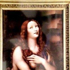 Postais: BURGOS. 61 CATEDRAL. LA MAGDALENA DE LEONARDO DE VINCI. ESCUDO DE ORO. NUEVA. COLOR. Lote 183295223
