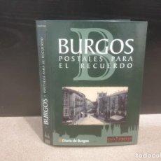 Postales: POSTALES.....CARPETA CON 36 POSTALES...ANTIGUAS IMAGENES DE BURGOS...REPRODUCCION.... Lote 183374481