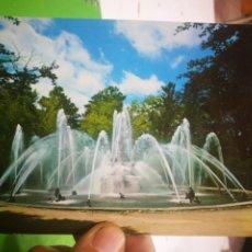 Postales: POSTAL LA GRANJA DE SAN ILDEFONSO FUENTE DE LAS RANAS ESCRITA. Lote 183423478