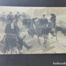 Postales: ZAMORA TIPOS ZAMORANOS DIA DE MERCADO POSTAL 1904. Lote 183442831