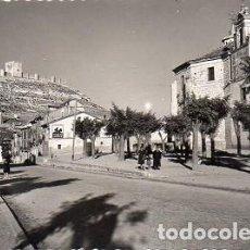 Postales: PEÑAFIEL - 13 CONVENTO DE SANTAÑANA, AL FONDO EL CASTILLO. Lote 183499567