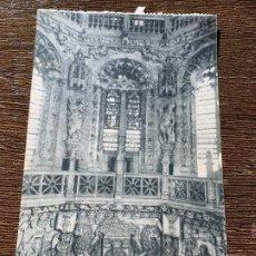 Postales: CATEDRAL, DETALLE INTERIOR DEL CRUCERO. BURGOS, FOTOTIPIA HAUSER Y MENET, MADRID. Lote 183571722