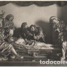 Postales: POSTAL DE VALLADOLID. MUSEO NACIONAL. ENTIERRO DE CRISTO P-CASTLE-1265. Lote 183893291