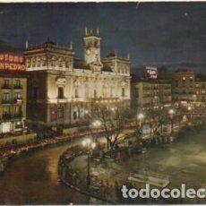 Postales: POSTAL DE VALLADOLID. NOCTURNO DE LA PLAZA MAYOR P-CASTLE-1272. Lote 183896763
