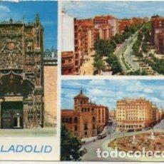 Postales: POSTAL DE VALLADOLID. TRES VISTAS P-CASTLE-1273. Lote 183896841