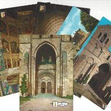 Cartoline: LOTE DE 6 POSTALES- ÁVILA.- CATEDRAL. BASÍLICA DE SAN VICENTE. Lote 183937815