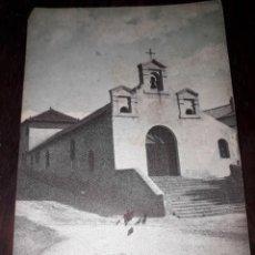 Postales: Nº 4886 POSTAL ESTACION DE EL ESPINAR LA IGLESIA SEGOVIA. Lote 184227678