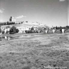 Postales: NEGATIVO ESPAÑA SALAMANCA CIUDAD RODRIGO 1966 KODAK 55MM GRAN FORMATO NEGATIVE PHOTO FOTO PANORÁMICA. Lote 184351852