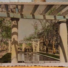 Postales: VALLADOLID, POSTAL ACERA DE RECOLETOS ( PÉRGOLAS DEL CAMPO GRANDE). Lote 184579685