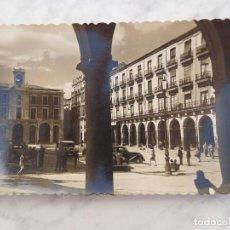 Postales: POSTAL DE ZAMORA. PLAZA MAYOR 2. ED. GARRABELLA CIRCULADA AÑO 1949. Lote 184658362