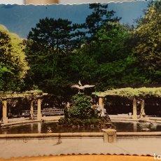Postales: VALADOLID. POSTAL COLOREADA DE LA PÉRGOLA DEL CAMPO GRANDE. ESCRITA SIN CIRCULAR. RARA.. Lote 184737012