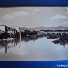 Postales: (PS-62223)POSTAL DE MIRANDA DE EBRO-VISTA PARCUIAL Y RIO EBRO. Lote 184782291