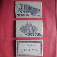 Postales: SEGOVIA.-HELIOTIPIA ARTISTICA ESPAÑOLA.-GARCIA GARRABELLA.-BLOC DE POSTALES.-LOTE DE 40 POSTALES.. Lote 184849352